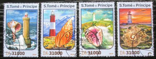 Poštovní známky Svatý Tomáš 2016 Mušle a majáky Mi# 6831-34 Kat 12€