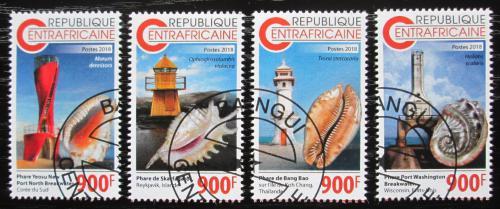 Poštovní známky SAR 2018 Mušle a majáky Mi# N/N