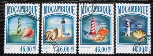 Poštovní známky Mosambik 2013 Mušle a majáky Mi# 6797-6800 Kat 11€