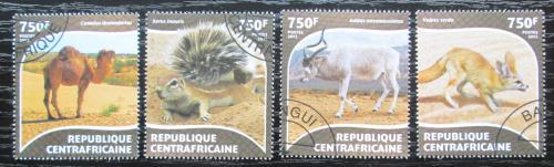 Poštovní známky SAR 2015 Pouštní fauna Mi# 5380-83 Kat 14€