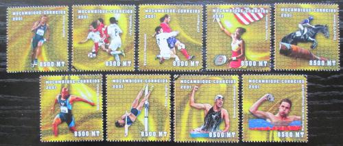 Poštovní známky Mosambik 2001 LOH Sydney Mi# 1888-96