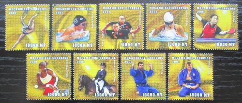 Poštovní známky Mosambik 2001 LOH Sydney Mi# 1897-1905