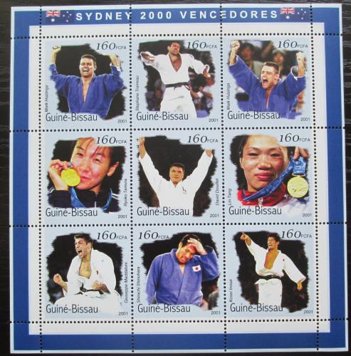 Poštovní známky Guinea-Bissau 2001 LOH Sydney, judo Mi# 1288-96