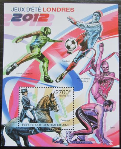 Poštovní známka SAR 2011 LOH Londýn Mi# Block 751 Kat 11€