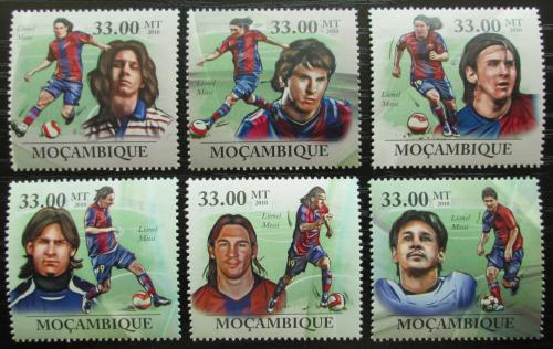 Poštovní známky Mosambik 2010 Lionel Messi, fotbalista Mi# N/N Kat 10€