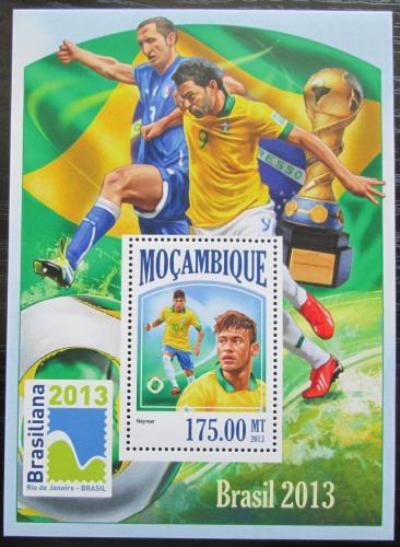 Poštovní známka Mosambik 2013 Konfederaèní pohár, fotbal Mi# Block 826 Kat 10€