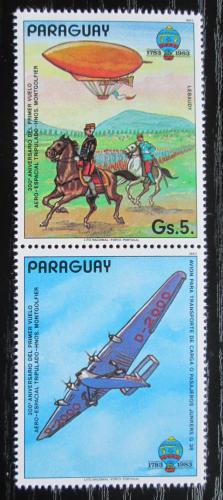 Poštovní známka Paraguay 1984 Historie letectví Mi# 3704 Kat 5€