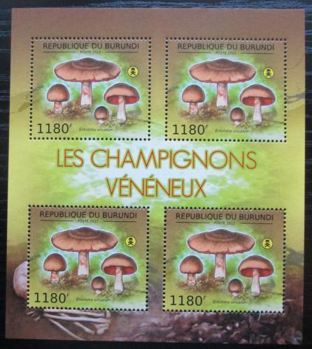 Poštovní známky Burundi 2012 Závojenka olovová Mi# 2743 Bogen