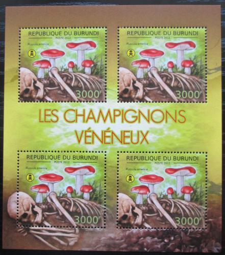 Poštovní známky Burundi 2012 Holubinka vrhavka Mi# 2745 Bogen