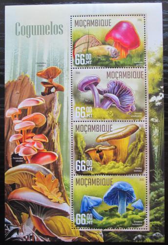 Poštovní známky Mosambik 2016 Houby Mi# 8439-42 Kat 15€