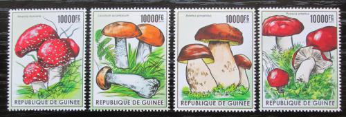 Poštovní známky Guinea 2015 Houby Mi# 11283-86 Kat 16€