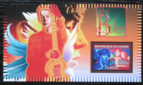 Poštovní známka Guinea 2006 The Beatles, Paul McCartney Mi# Block 998