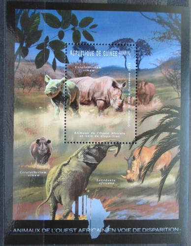 Poštovní známka Guinea 2012 Fauna západní Afriky Mi# Block 2087 Kat 18€