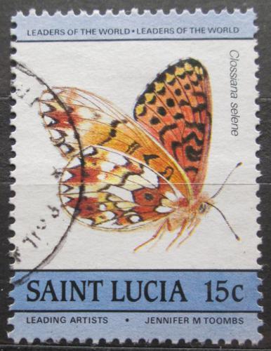 Poštovní známka Svatá Lucie 1985 Perle�ovec dvanáctiteèný Mi# 732
