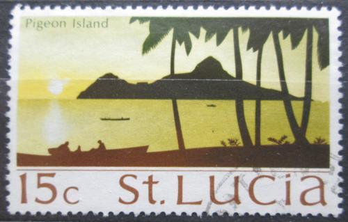 Poštovní známka Svatá Lucie 1970 Pigeon Island Mi# 260 X