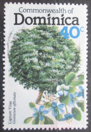 Poštovní známka Dominika 1979 Guajak léèivý Mi# 643