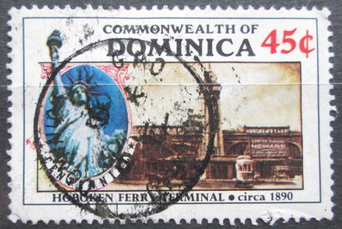 Poštovní známka Dominika 1986 Socha svobody Mi# 956