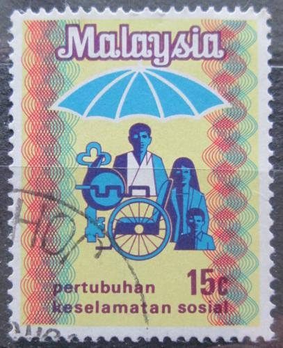 Poštovní známka Malajsie 1973 Sociální zabepeèení Mi# 100