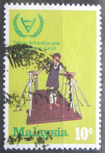Poštovní známka Malajsie 1981 Postižené dítì Mi# 219