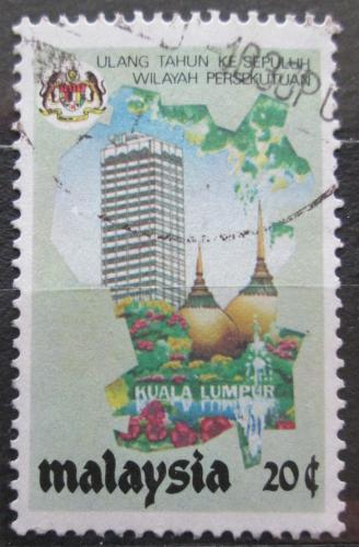 Poštovní známka Malajsie 1984 Kuala Lumpur Mi# 275