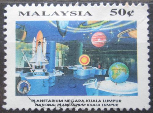 Poštovní známka Malajsie 1994 Národní planetárium Mi# 511