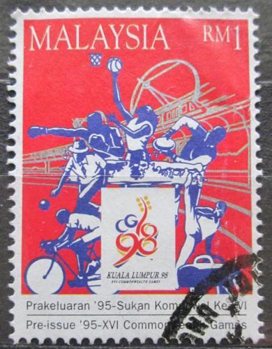 Poštovní známka Malajsie 1995 Sportovní hry Mi# 570 Kat 4.50€