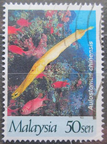 Poštovní známka Malajsie 1997 Èínská trubka Mi# 657