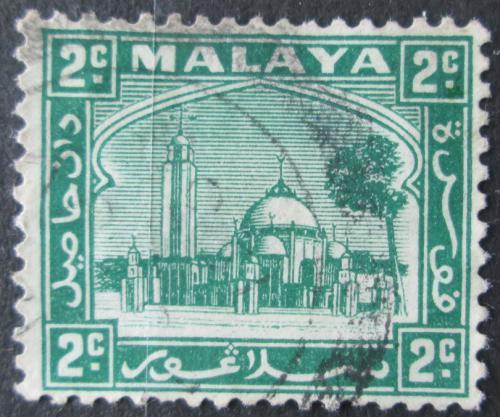 Poštovní známka Malajsie, Selangor 1936 Mešita Mi# 32