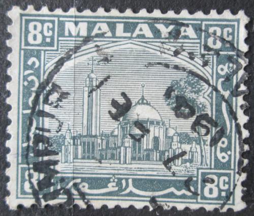 Poštovní známka Malajsie, Selangor 1935 Mešita Mi# 38