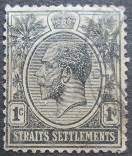 Poštovní známka Prùlivové osady 1922 Král Jiøí V. Mi# 162
