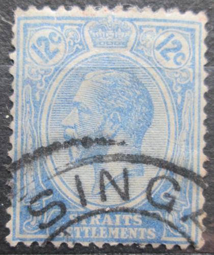 Poštovní známka Prùlivové osady 1922 Král Jiøí V. Mi# 182