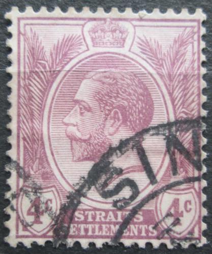 Poštovní známka Prùlivové osady 1919 Král Jiøí V. Mi# 159 b