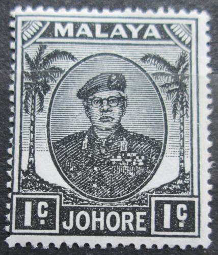 Poštovní známka Malajsie, Johor 1949 Sultán Ibrahim Mi# 115