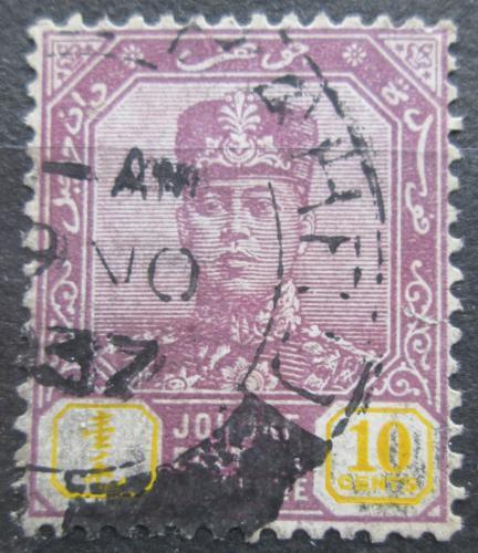Poštovní známka Malajsie, Johor 1922 Sultán Ibrahim Mi# 94