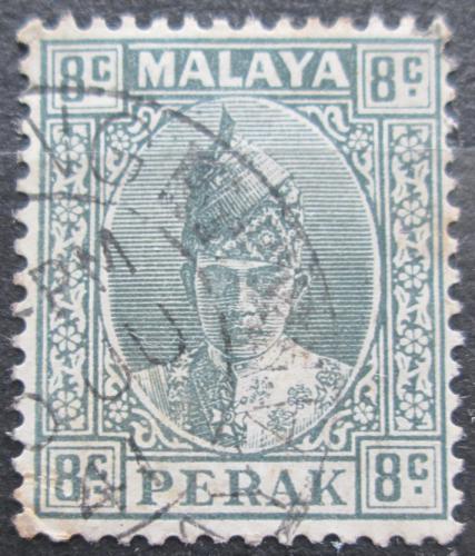 Poštovní známka Malajsie, Perak 1938 Sultán Iskandar Mi# 63