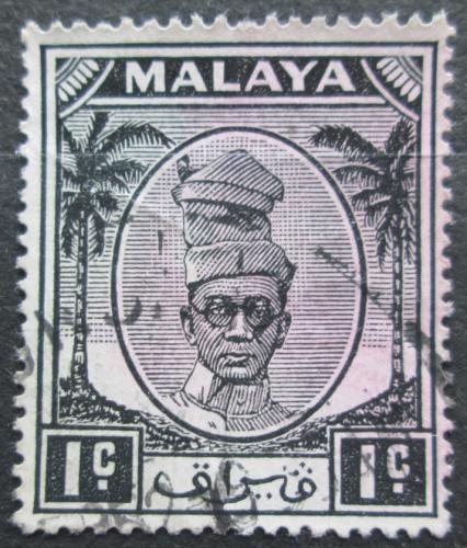 Poštovní známka Malajsie, Perak 1950 Sultán Izuddin Mi# 81