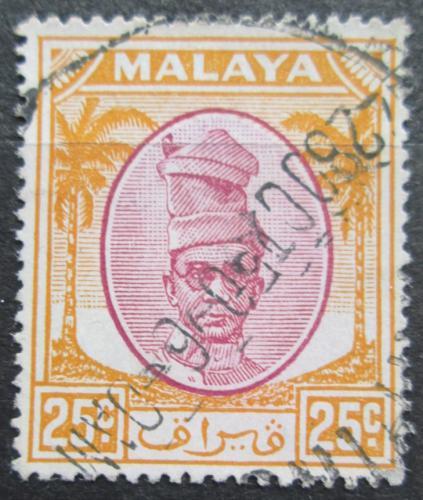 Poštovní známka Malajsie, Perak 1950 Sultán Izuddin Mi# 94
