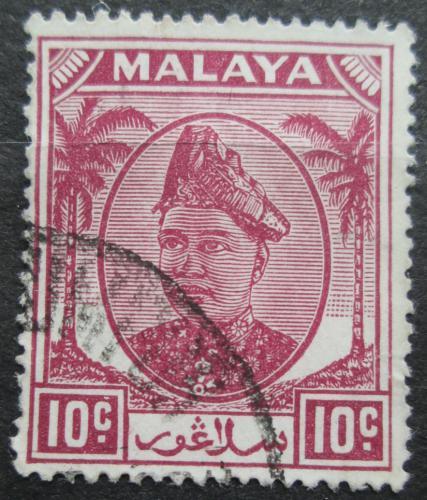 Poštovní známka Malajsie, Selangor 1949 Sultán Hisamuddin Alam Shah Mi# 61
