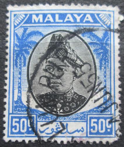 Poštovní známka Malajsie, Selangor 1949 Sultán Hisamuddin Alam Shah Mi# 70