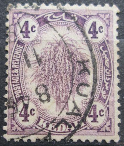 Poštovní známka Malajsie, Kedah 1926 Svazek rýže Mi# 38