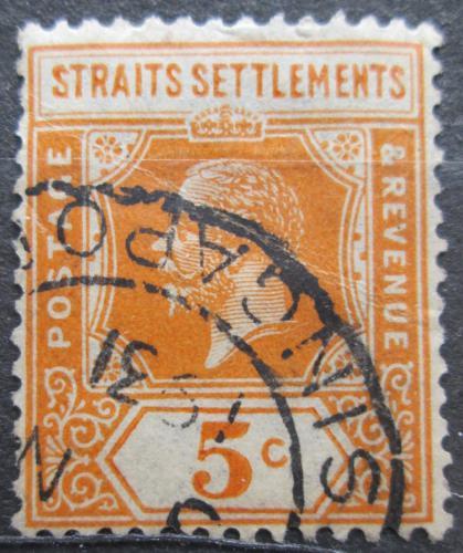Poštovní známka Prùlivové osady 1921 Král Jiøí V. Mi# 165 II
