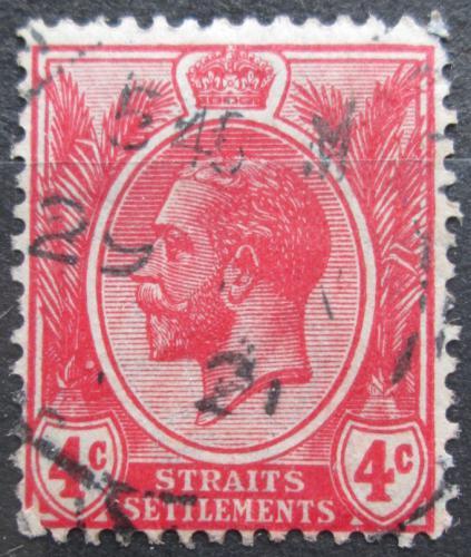 Poštovní známka Prùlivové osady 1919 Král Jiøí V. Mi# 159 a