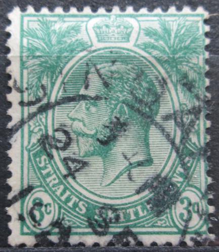 Poštovní známka Prùlivové osady 1923 Král Jiøí V. Mi# 176