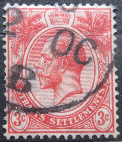 Poštovní známka Prùlivové osady 1917 Král Jiøí V. Mi# 139 b