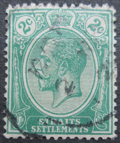 Poštovní známka Prùlivové osady 1921 Král Jiøí V. Mi# 163