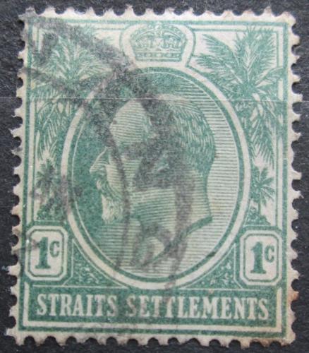 Poštovní známka Prùlivové osady 1904 Král Edward VII. Mi# 96
