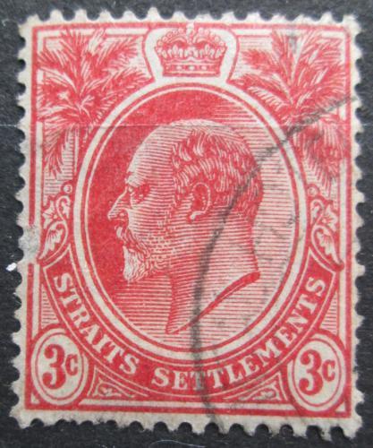 Poštovní známka Prùlivové osady 1908 Král Edward VII. Mi# 122