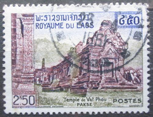 Poštovní známka Laos 1959 Chrám Vat Phou Mi# 99