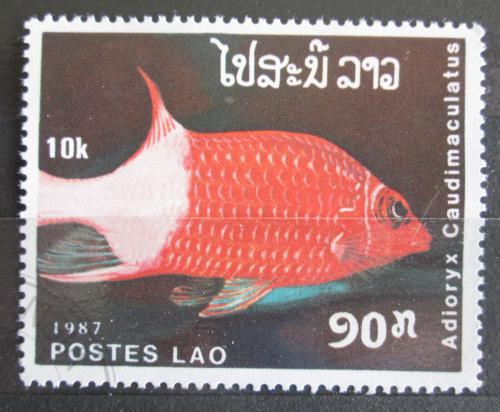Poštovní známka Laos 1987 Adioryx candimaculatus Mi# 1040