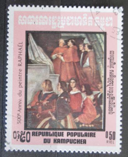 Poštovní známka Kambodža 1983 Umìní, Raffael Mi# 481